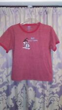 Red/Pink Printed Cotton/Poly Short Sleeve T-shirt XL Everlast Bicycle Trainers