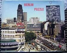 3 Vintage Puzzle Berlin Kurfürstendamm - Brandenburger Tor .... um 1965