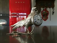 Antique Bronze Pocket Watch Holder Stand