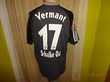 "FC Schalke 04 Adidas Matchworn Trikot 2001/02 ""Victoria"" + Nr.17 Vermant Gr.L"