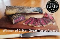 Mortons Beef Biltong, Original & Piri Piri High Protein 2 STAR GREAT TASTE AWARD