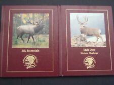"""2 North American Hunting Club Books """"Elk Essentials & Mule Deer Western Challeng"""