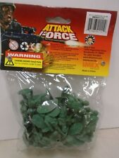 IMEX #41111 ATTACK FORCE BAG OF 30 PLASTIC GREEN ARMY MEN NEW IN PACKAGE