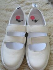 Dr. Martens flats size 5 leather white brand new