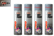 AEROSOL PROFESSIONAL HIGH COVERAGE PROMATIC PRIMER GREY 500ml x4