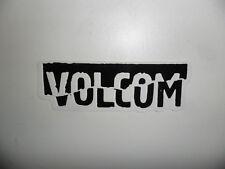 "VOLCOM Decal Sticker - Black / White - Approx. 1.5"" x 4.25"""