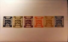 ISRAEL Palestine 1918 , - Collection 6 Stamps, MNH