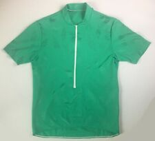 Pearl Izumi Women's Short Sleeve Green 1/2 Zip Cycling Jersey! 3 Pockets. Sz M