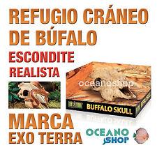 REFUGIO PARA REPTILES BUFFALO SKULL CRÁNEO DE BÚFALO Exo Terra Realista