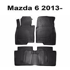 Rubber Car Floor Mats All Weather Custom Fit Mazda 6 2013 2014 2015 2016 4d SW