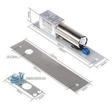 Electric Magnetic Drop Bolt Door Lock for Smart Access Control System DC12V M3Q4