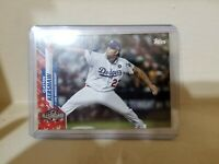Clayton Kershaw 2020 Topps Update Independence Day #237 /76 SP