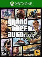 Grand Theft Auto 5 V (Xbox One, NTSC, GTA Video Game RockStar) Brand New Sealed