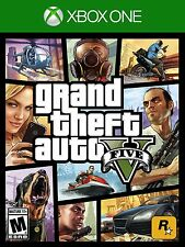 Grand Theft Auto 5 V [Xbox One XB1, GTA Action Driving Shooting Carjacking] NEW