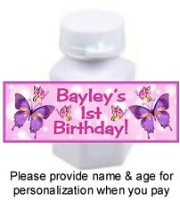30 Butterflies Butterfly Birthday Party Or Baby Shower Stickers For Mini Bubbles