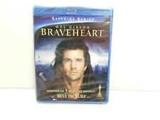 Braveheart (Blu-ray, 2009, 2 Disc) Oop Rare Sapphire Series Mel Gibson Brand New