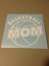 Basketball Mom Vinyl Die Cut Decal,window,car,truck,funny,ipad,laptop,sports