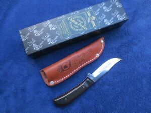 VINTAGE QUEEN CUTLERY TITUSVILLE PH-D2 KNIFE AND SHEATH WITH ORIGINAL BOX