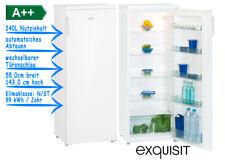 exquisit Vollraum Kühlschrank Weiß A++ 240l automatsiches Abtauen KS 325-4A++