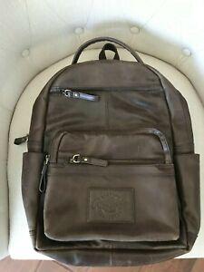 Rawlings Leather Backpack, Brown