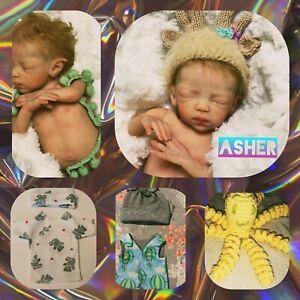 "11/"" Reborn Doll Reallike Realistic Newborn Black Boy Baby Lifelike Vinyl Silicon"