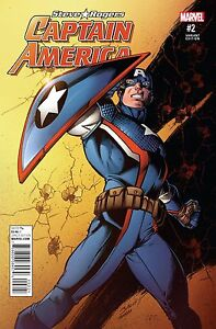 Steve rogers: Captain America #2 Hail Hydra! by Spencer & Saiz Variants 2016