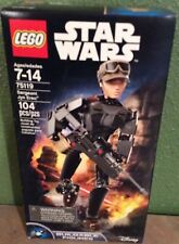 Disney LEGO # 75119 Constraction Star Wars Sergeant Jyn Erso 104 Pcs. NEW