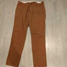 Hollister Skinny Chino Jeans Mustard Brown 30
