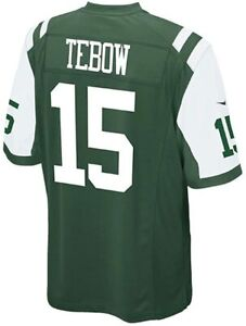 """New! Nike Men's New York Jets #15 """"Tim Tebow"""" NFL Football Jersey (Size: Large)"""