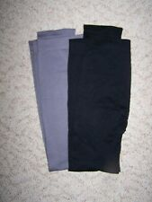 Womens, 2 Pair of XL, Leggings, Black/Gray, New without Tags