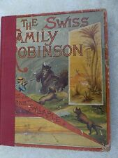 RARE!! THE SWISS FAMILY ROBINSON IN WORDS OF ONE SYLLABLE by I.F.M.