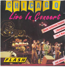 CHICAGO - Live in Concert - Original 7 Track CD Album