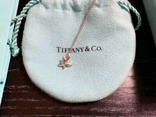 Auth Tiffany & Co Paloma Picasso Olive Leaf Small Necklace Pendant *DHL*