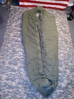 USMC ARMY Intermediate Cold Weather Sleeping Bag Mummy STUCK ZIPPER