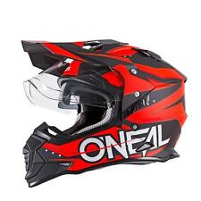 O'Neal Sierra II Helm Slingshot Orange Motorrad MX Moto Cross Offroad Dual Sport