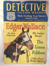 Detective Fiction Weekly - January 18, 1930 - Edgar Wallace, Robert H Rhode