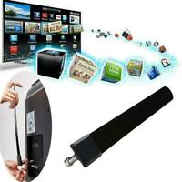 Key HDTV FREE Digital Indoor Antenna Ditch Cable Portable Signal Amplifier