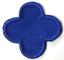 """WWII US 88TH INFANTRY DIVISION """"FIGHTING BLUE DEVILS"""" SLEEVE PATCH INSIGNIA"""