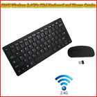 K04 Ultimate Wireless 2.4GHz Mini Keyboard and Mouse Combo For PC Laptop Mac New