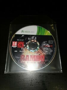 Rambo - The Video Game Microsoft Xbox 360 Game Disc Only