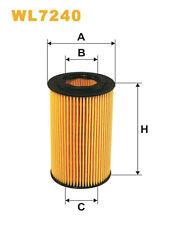Wix WL7240 Car Oil Filter Eco Cartridge Replaces HU7181k CH9301 OX153D3