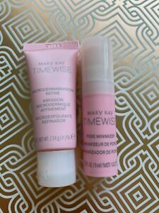 Mary Kay Microdermabrasion Plus Travel Set with Pore Minimizer *FREE SHIPPING*.