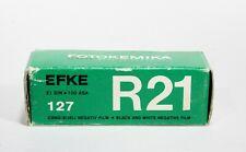 Rare EFKER21 100 ASA ISO B&W FILM 127 Exp 1991