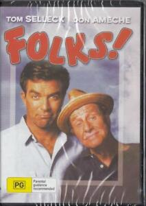 FOLKS! - TOM SELLECK & DON AMECHE - NEW & SEALED DVD FREE LOCAL POST