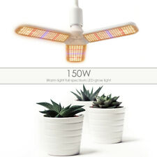150W E27 Full Spectrum Warm LED Grow Light Indoor Plant Hydroponic Stretch Lamp