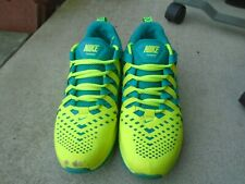 NIKE Air Trainer yellow /green Fingertrap Max Men's US 9 .5 Cross Training Shoes