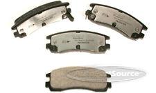 Disc Brake Pad Set fits 1991-1998 Saturn SL,SL1,SL2 SC1,SC2,SW1,SW2  AUTOPARTSOU