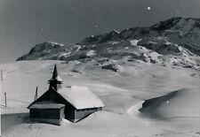 ALPES D'HUEZ c. 1950 - Eglise Isère - DIV 12011