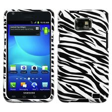 Zebra HARD Protector Case Snap On Phone Cover AT&T Samsung Galaxy S II 2 / i777