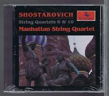 SHOSTAKOVICH CD NEW STRING QUARTET 6 & 10